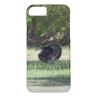 Gobbler Strutting His Stuff-Wild Turkey iPhone 7 Case