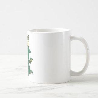Gobby the baby dragon basic white mug