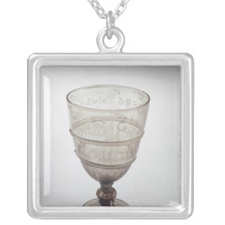 Goblet by Jacopo Verzelini, 1586 Silver Plated Necklace