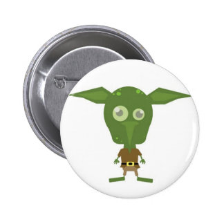 Goblin 6 Cm Round Badge