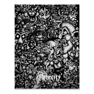 Goblin City Print