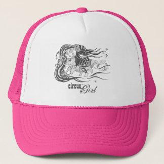 Goblin Dog Fish, Circus Girl, Pink Trucker Hat
