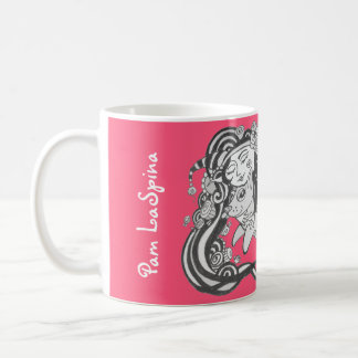 Goblin Dog Fish, Dare to Dream, Bubblegum Pink Coffee Mug