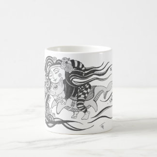 Goblin Dog Fish, Dare to Dream Coffee Mug