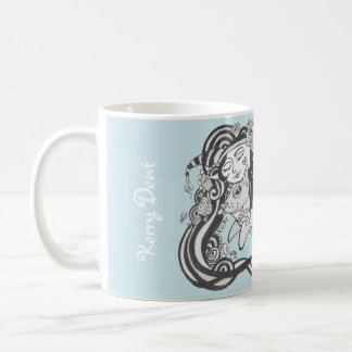 Goblin Dog Fish Malibu Blue, Living the Dream Coffee Mug