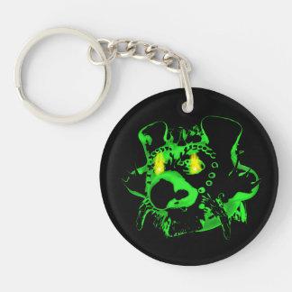 Goblin Fire Round Acrylic Keychain