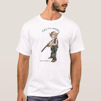 Goblin Flutist Celtic Whirl T-Shirt