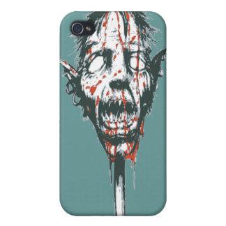 Goblin Head on a Pole iPhone 4/4S Cover