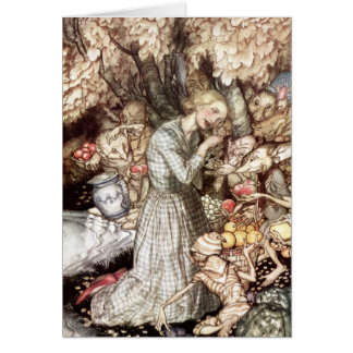 Goblin Market: precious golden lock Greeting Card