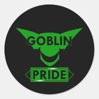 Goblin Pride Classic Round Sticker