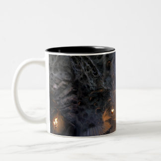 Goblin Town Concept - Bridges Two-Tone Coffee Mug