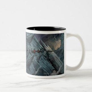 Goblin Town Concept - Pathway Two-Tone Coffee Mug