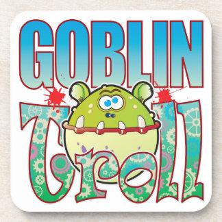 Goblin Troll Beverage Coaster