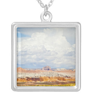 Goblin Valley State Park Silver Plated Necklace