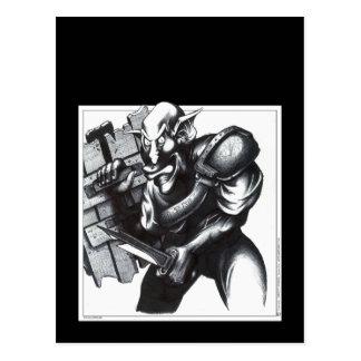 Goblin Warrior Postcard