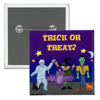 Goblins 2, Trick or Treat? Square Pin