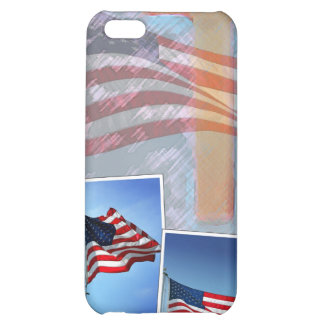 God and Country iPhone 5C Cases