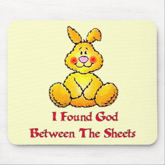 God Between The Sheets Mouse Pad