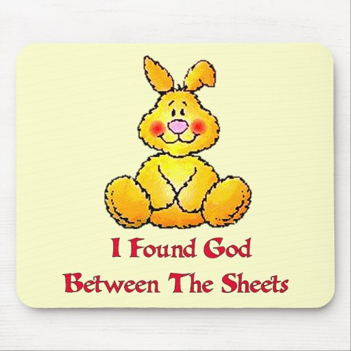 God Between The Sheets Mouse Mats