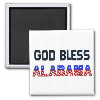 God Bless Alabama Magnet