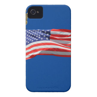 God Bless America, American Flag, Patriot Support iPhone 4 Case-Mate Cases
