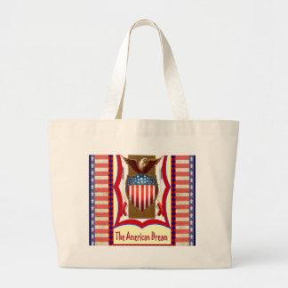 God Bless America Canvas Bag