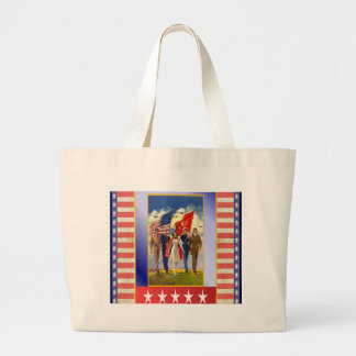 God Bless America Tote Bags