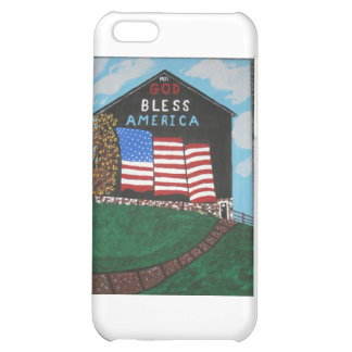 God Bless America Barn iPhone 5C Case