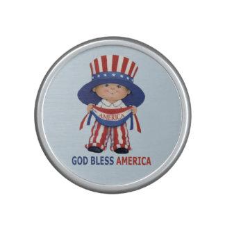 """God Bless America"""" Bumpster Speaker"""