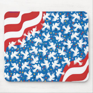God Bless America by Metin Mouse Mat