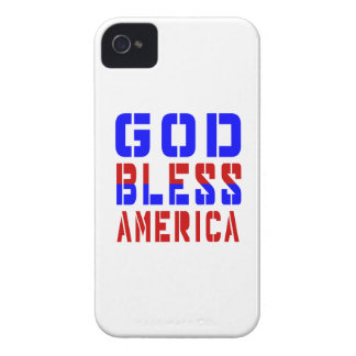 God Bless America iPhone 4 Case-Mate Cases