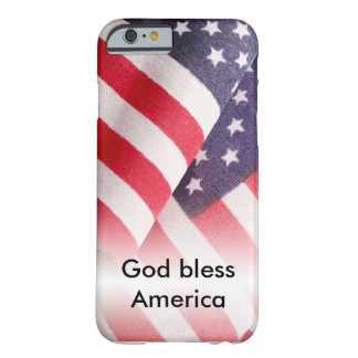 God Bless America Barely There iPhone 6 Case