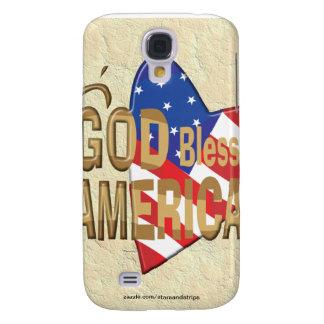 GOD BLESS AMERICA SAMSUNG GALAXY S4 CASE