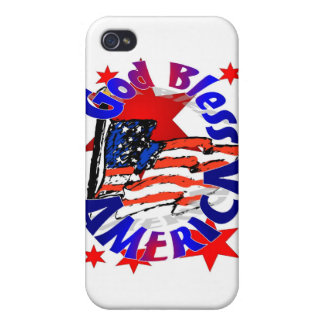 God Bless America Christian iPhone 4/4S Covers