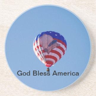God Bless America Coaster