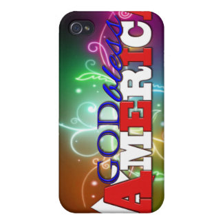 GOD BLESS AMERICA COVERS FOR iPhone 4