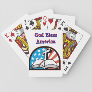 God Bless America Deck of Cards