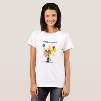 God Bless America Donkey T-Shirt