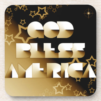God Bless America Drink Coasters