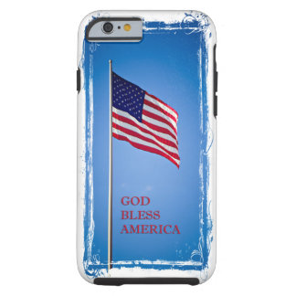 God Bless America Flag iPhone 6 Case