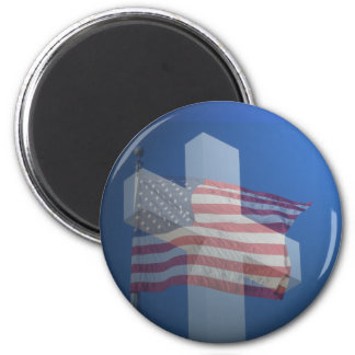 God Bless America!  Gifts and Clothes 6 Cm Round Magnet