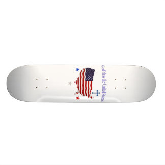 God Bless America gifts Skate Board Decks