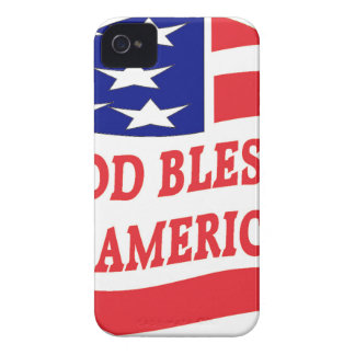 GOD BLESS AMERICA iPhone 4 COVER