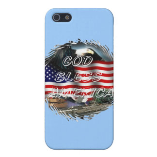 God bless america iPhone 5/5S cover