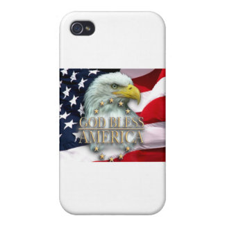 GOD BLESS AMERICA CASES FOR iPhone 4