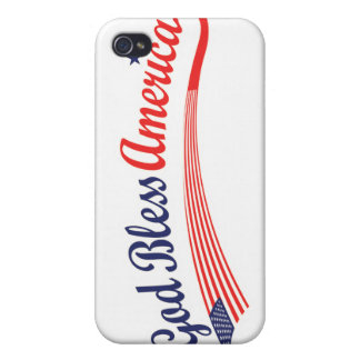 God Bless America iPhone 4/4S Case