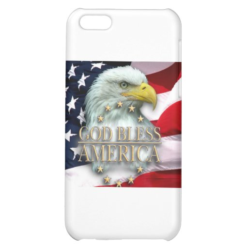 GOD BLESS AMERICA iPhone 5C CASES