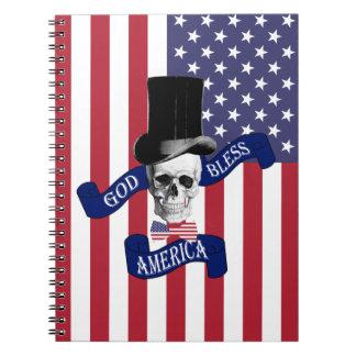 God Bless America Notebook