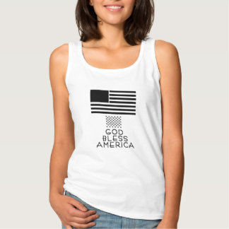 God Bless America Patriotic American Flag Shirt
