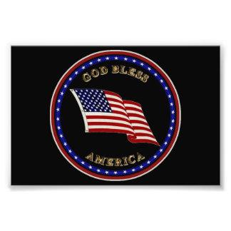 God Bless America Photo Print